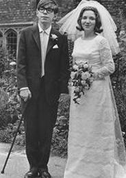 资料图:霍金结婚照