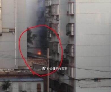 河北邯郸罗苑小区爆炸2