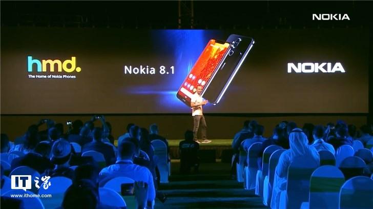 诺基亚9缺席   诺基亚X7国际版迪拜发布:售价超3000元
