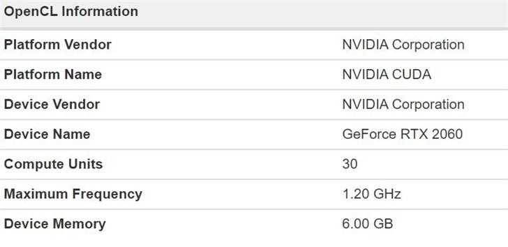 技嘉GeForce RTX 2060首曝:TU106核心 6G B  GDDR6显存