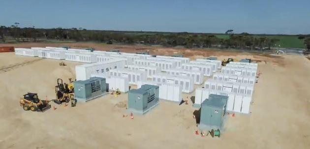 特斯拉将推工业电池系统Megapack:用于加州储能项目