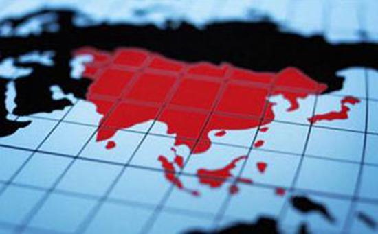 2040年亚洲经济总量_亚洲地图