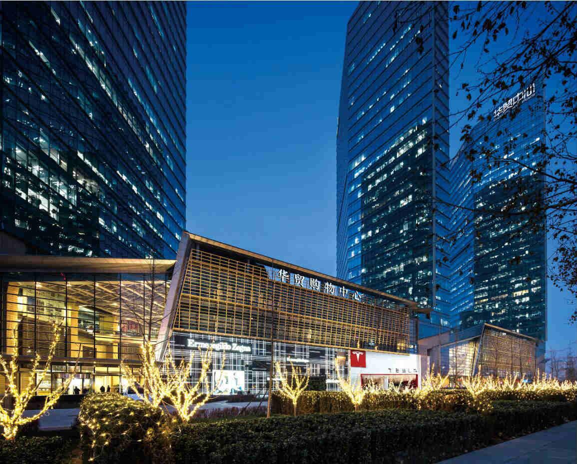 华贸购物中心获全国首批五星级购物中心认证