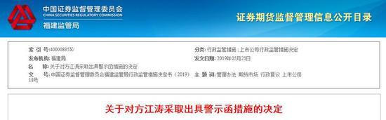 達華智能持股5%以上股東違規減持公司股票 被警示