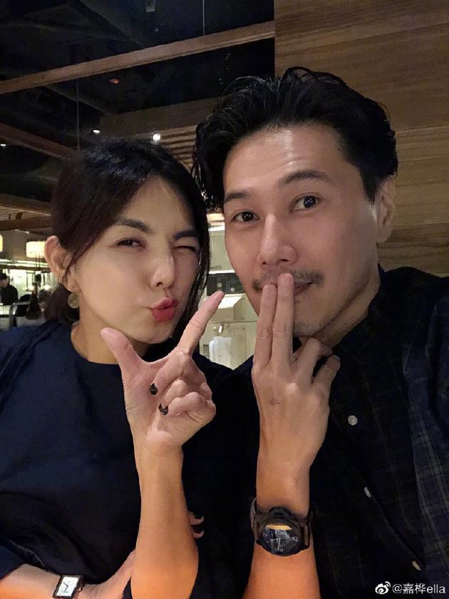 Ella(陈嘉桦)与老公