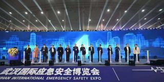 中国电信精彩亮相首届武汉国际应急安全博览会